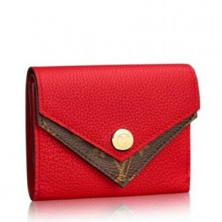Louis Vuitton Red Double V Compact Wallet M64419 bag