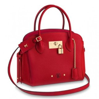 Louis Vuitton Red Milla PM Bag Veau Nuage M54347 bag