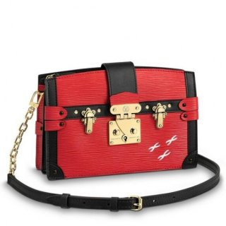 Louis Vuitton Rouge Trunk Clutch Epi Leather M51697 bag