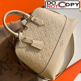 Louis Vuitton Sac Neo Alma PM Monogram Empreinte Leather Bag M44834 White bag