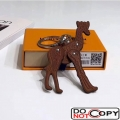 Louis Vuitton Savane Giraffe Bag Charm and Key Holder MP2300 Brown