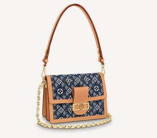 Louis Vuitton Since 1854 Dauphine MM Bag M57499 Blue bag