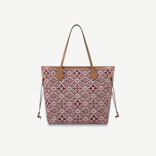 Louis Vuitton Since 1854 Neverfull MM Tote Bag M57273 Burgundy bag