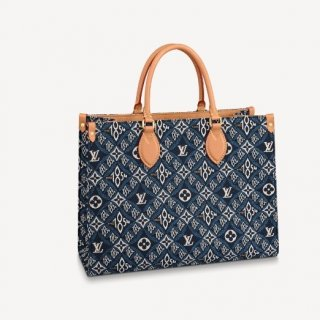 Louis Vuitton Since 1854 OnTheGo MM Tote Bag M57396 Blue bag