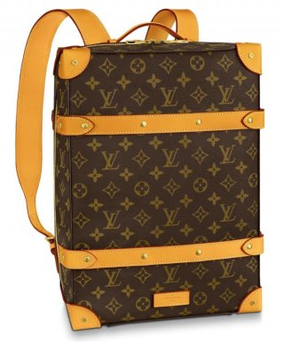 Louis Vuitton Soft Trunk Backpack PM M44752 Brown bag