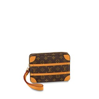 Louis Vuitton Soft Trunk Monogram Canvas Pouch M44779 bag