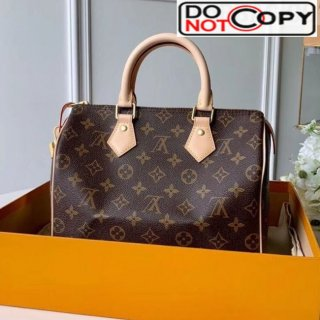 Louis Vuitton Speedy 25 Monogram Canvas Top Handle Bag M41109 bag