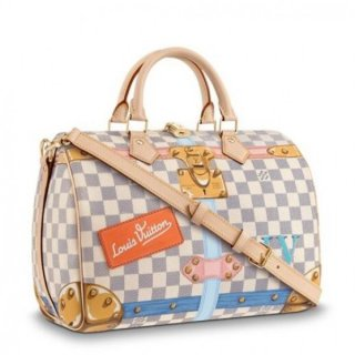 Louis Vuitton Speedy 30 Summer Trunks Damier Azur N41063 bag