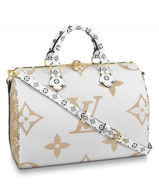 Louis Vuitton Speedy Bandouliere 30 M44572 Cream bag