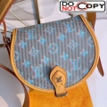 Louis Vuitton Tambourin Monogram Pop Round Shoulder Bag M55460 Blue