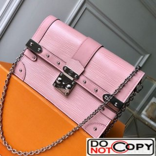 Louis Vuitton Trunk Chain Wallet WOC in Epi Leather M67508 Pink bag