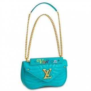 Louis Vuitton Turquoise New Wave Chain Bag MM M51946 bag
