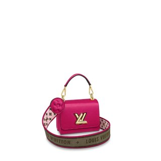 Louis Vuitton Twist Mini Bag in Epi Leather M57063 Pink Rose bag