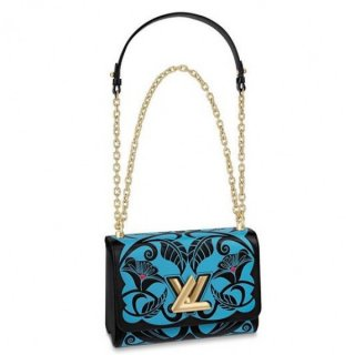 Louis Vuitton Twist MM Bag Floral Prints M52309 bag