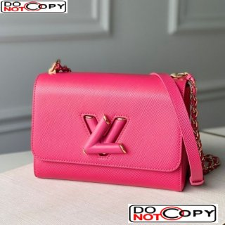 Louis Vuitton Twist MM Chain Bag in Epi Leather M50282 Pink bag
