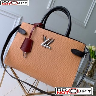 Louis Vuitton Twist Tote Bag in Epi Leather M51846 Apricot bag