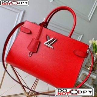 Louis Vuitton Twist Tote Bag in Epi Leather M54811 Red bag