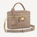 Louis Vuitton Vanity Case PM in Giant Monogram Leather M45608 Beige bag