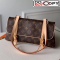 Louis Vuitton Vintage Monogram Canvas Shoulder Bag M51162 Bag