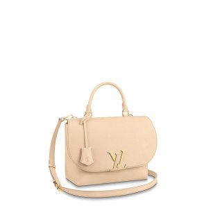 Louis Vuitton Volta LV Flap Top Handle Bag M55060 Cream White bag