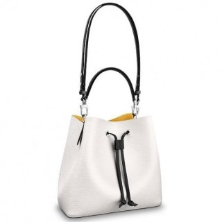 Louis Vuitton White Neonoe Bag Epi Leather M53371 bag
