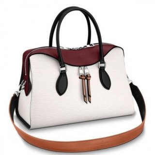 Louis Vuitton White Tuileries Bag Epi Leather M53443 bag