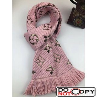 Louis Vuitton Wool and Silk Scarf 75