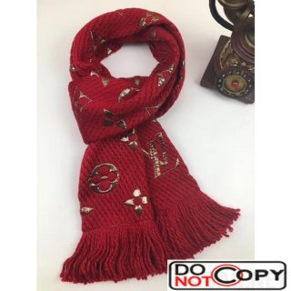 Louis Vuitton Wool and Silk Scarf 78