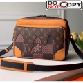 Louis Vuitton x Nigo Monogram Canvas Messenger Bag M55455 Bag