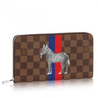 Louis Vuitton Zippy Organiser Wallet Damier Ebene N63342