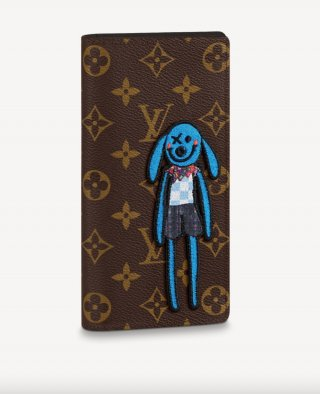 Louis Vuitton Zoom with Friends Brazza Wallet M80158 bag