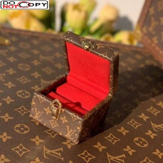 Louis Vuitton Ecrin Declaration Ring and Jewelry Case M21010 Monogram Canvas/Red