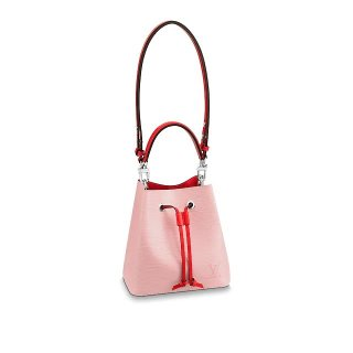 Louis Vuitton NeoNoe BB Epi Leather Bucket Bag M53609 Pink/Red Bag