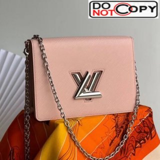 Louis Vuitton Twist Epi Leather Belt Bag/Wallet on Chain WOC M68559 Pink bag