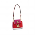 Louis Vuitton Twist MM and Twisty Wallet Epi Leather Bag Set M55683 Pink/Red/White bag