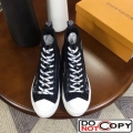 Louis Vuitton Tattoo Sneaker Boot for Men Black