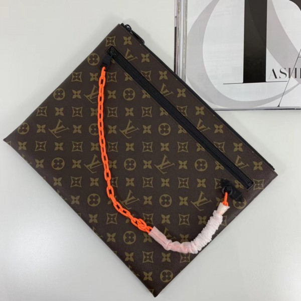 Louis Vuitton A4 Pouch Monogram Canvas M44484 bag