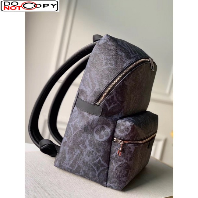 Louis Vuitton Men's Discovery Backpack PM in Monogram Pastel Canvas Black/Grey M57274 Bag