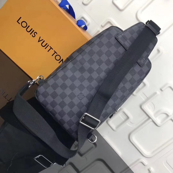 Louis Vuitton League Avenue Sling Bag Damier Graphite N41056 bag