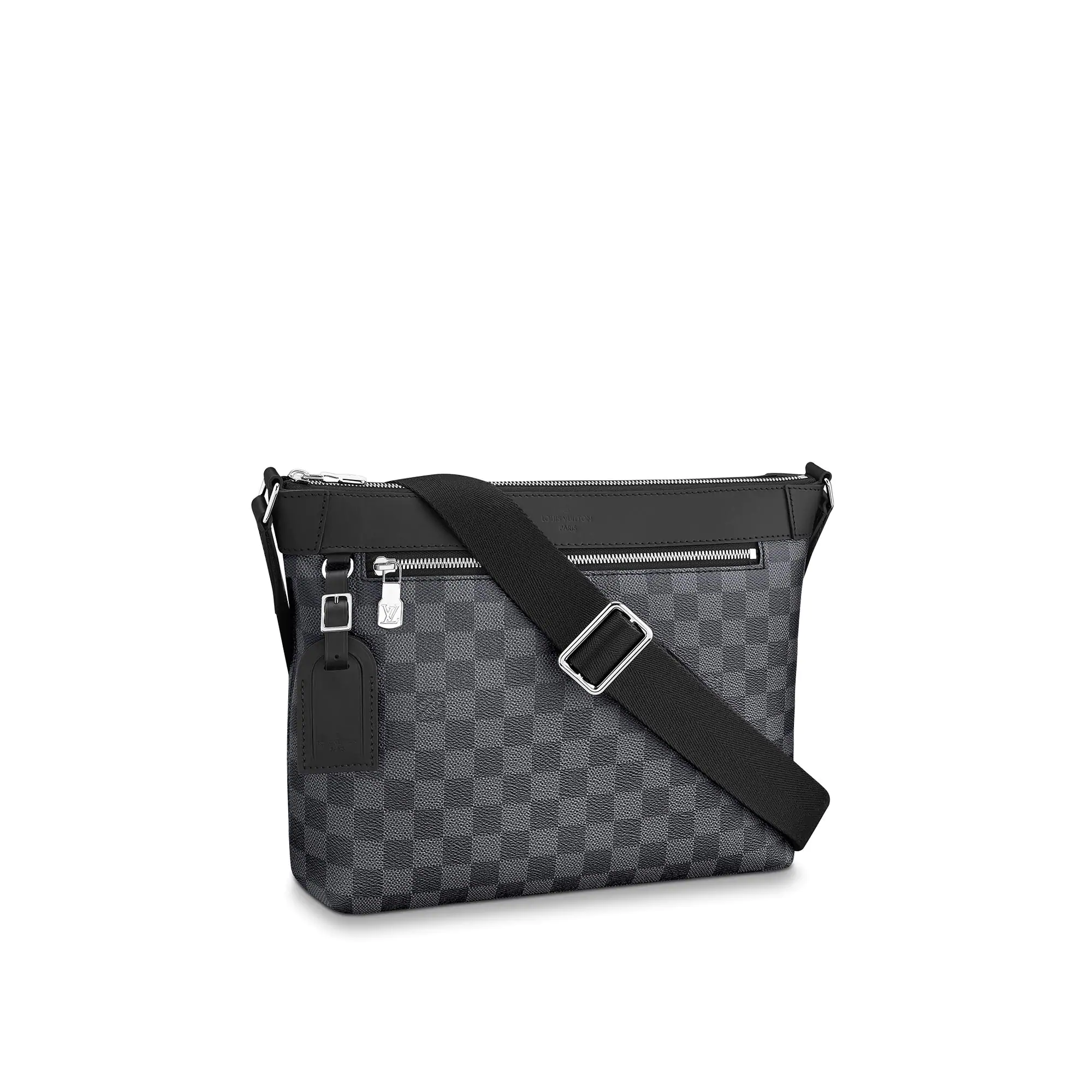 Louis Vuitton Mick Small Messenger Shoulder Bag in Damier Graphite Canvas N40003 bag
