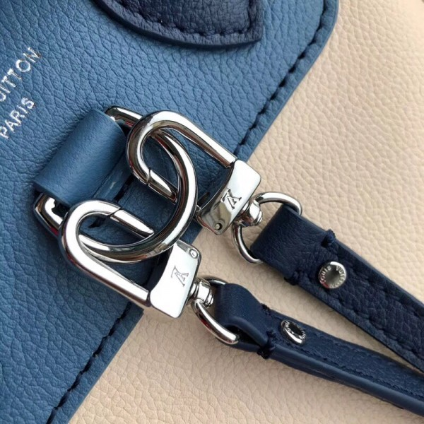 Louis Vuitton Blue Jean Lockme Mini Backpack M55017 bag