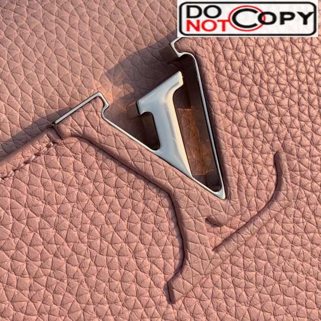 Louis Vuitton Capucines BB with Braided Handle M55236 Pink