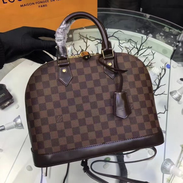 Louis Vuitton Alma PM Bag Damier Ebene N53151 bag