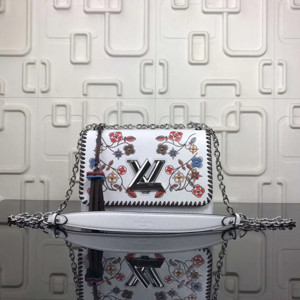 Louis Vuitton Twist MM Bag Monogram Flower Motif M53532 bag