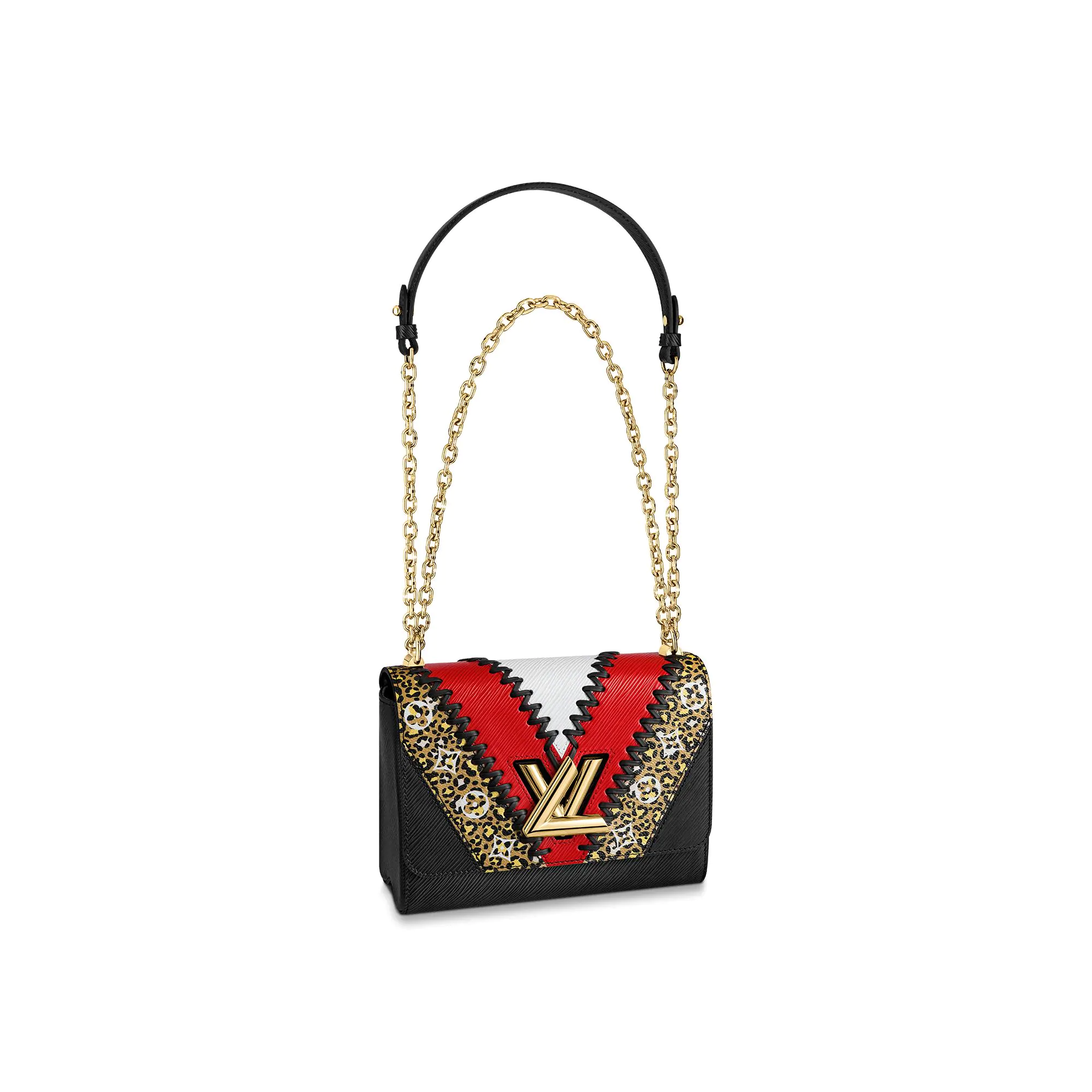 Louis Vuitton Twist MM in Animal Print V Epi Leather M53926 bag