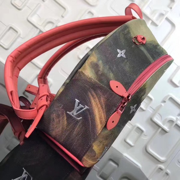 Louis Vuitton Palm Springs Backpack Masters LV X Koons M43375 bag