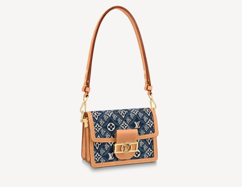 Louis Vuitton Since 1854 Dauphine Mini Bag M57394 Blue bag