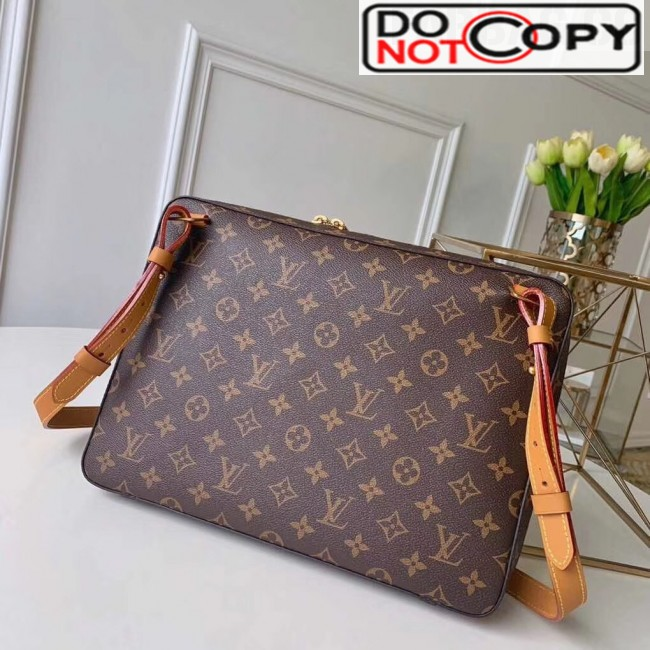 Louis Vuitton Soft Trunk Messenger MM Monogram Canvas Shoulder Bag M44754 bag