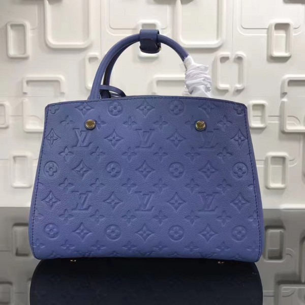 Louis Vuitton Montaigne MM Bag Monogram Empreinte M41757 bag