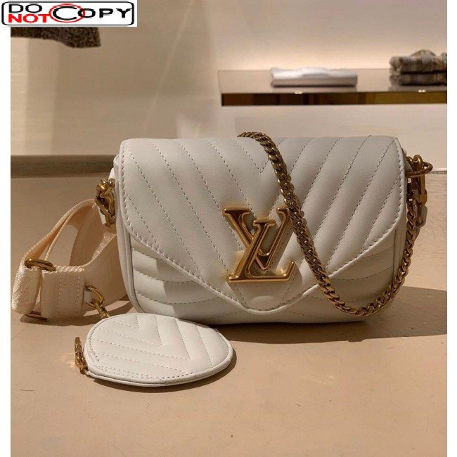 Louis Vuitton Multi Pochette New Wave Mini Bag M56466 White bag